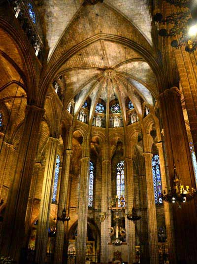 Visite Guidee Quartier Gothique Cathedrale Interieur