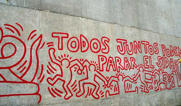 Fresques Keith Haring 1