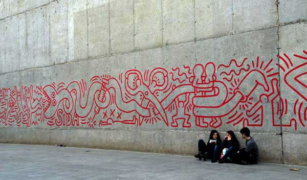 Fresques Keith Haring 2