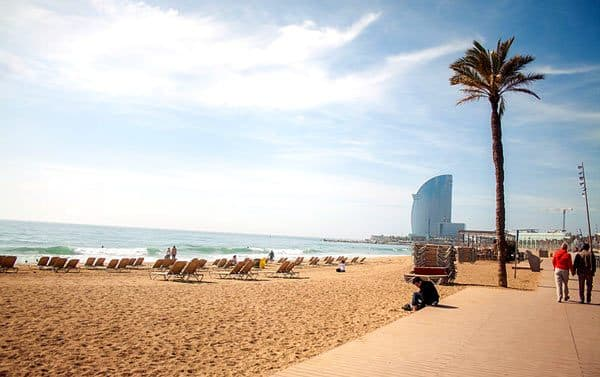 Visite Barcelone Plages Hotel W